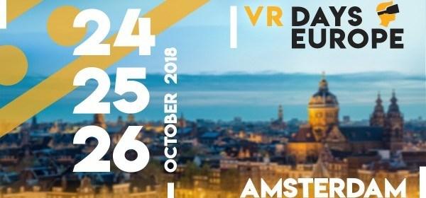 VR Days Europe 2018 daagt de werkelijkheid uit