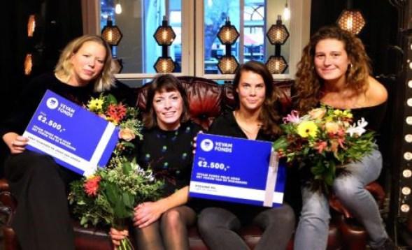 Winnaars VEVAM Fonds Prijs van het Forum van de Regisseurs bekend